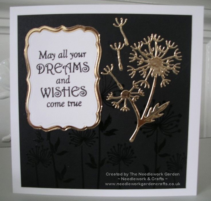 Dandelion Dreams using Spellbinders In'spire Shapeabilities Dandylion Die and Inky Doodles Dandelion Dreams Stamp Set  www.needleworkgardencrafts.co.uk