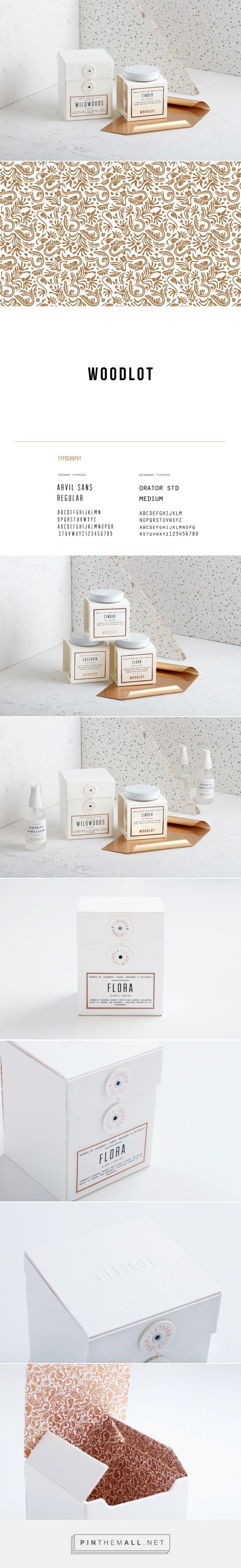 Woodlot Candle packaging design by arithmetic creative - http://www.packagingoftheworld.com/2017/06/woodlot-candle.html