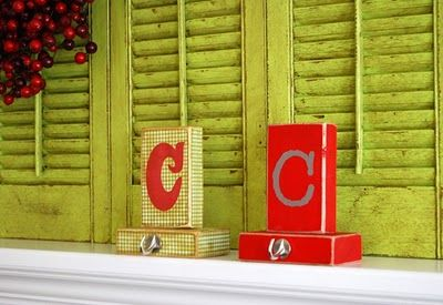 For Christmas, stocking holders. LOVE IT