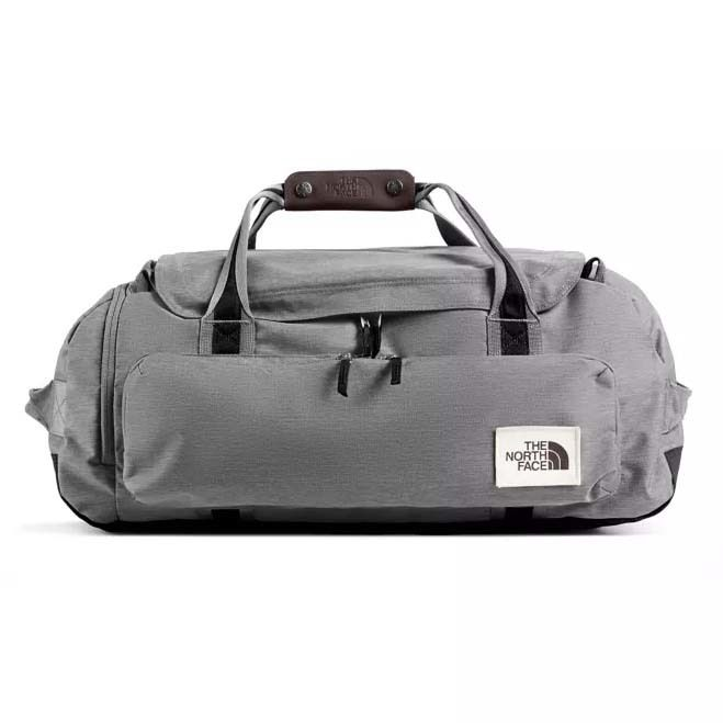 The North Face Berkeley Duffel M Mid Grey Light Tnf Black The North Face Duffel Bag Backpack Bags