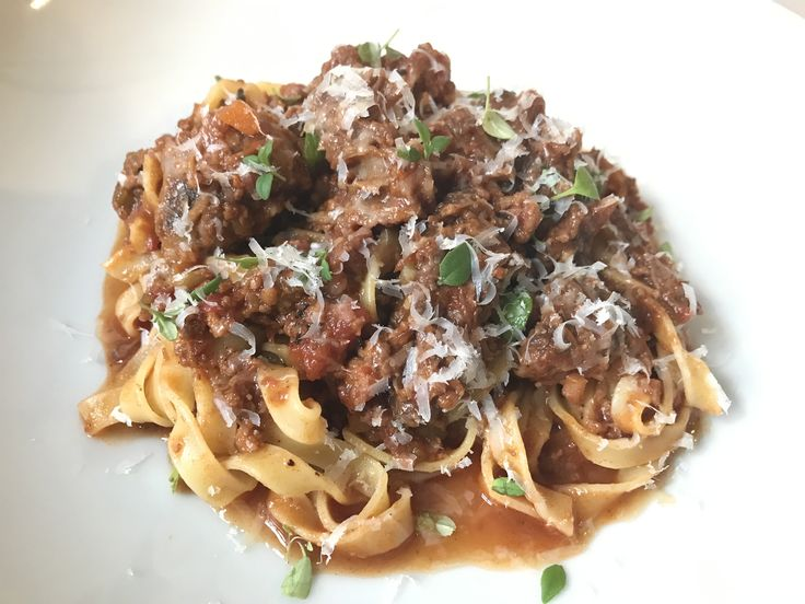 Sloooooow cooked veal & oxtail ragu is my ultimate go-to comfort dish. Learn more at https://www.platecations.com/single-post/VealOxtailRagu