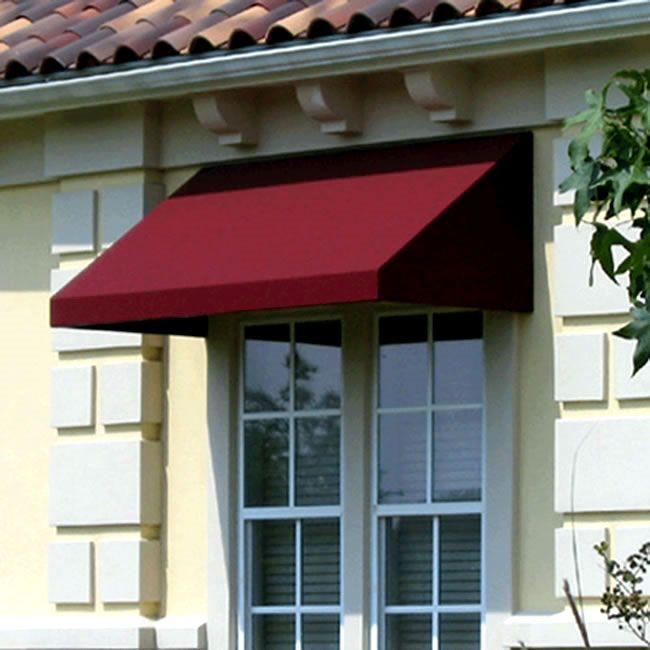 Awntech Beauty Mark New Yorker 3 Ft Low Eaves Window Door Awning