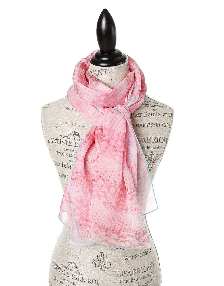 32 best Silk Print Scarves images on Pinterest