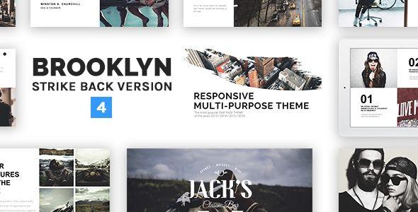 Brooklyn v4.0.2 – Responsive Multi-Purpose WordPress Theme