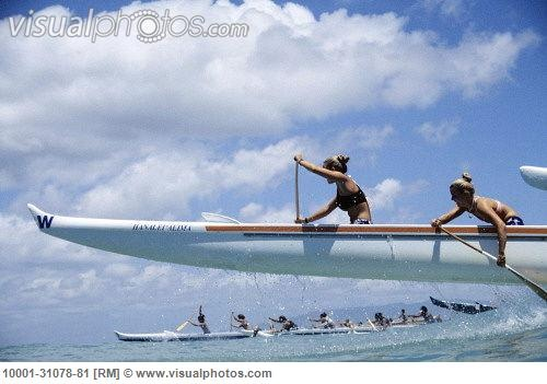 Where this was found I don't know, but how fun :)... (me and jamie summer waikiki races) Yay, Maria and Jamie- famous on pinterest!