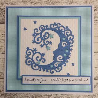 Personal Impressions Blog: Sweet Dixie Moon Card by Teresa Morgan