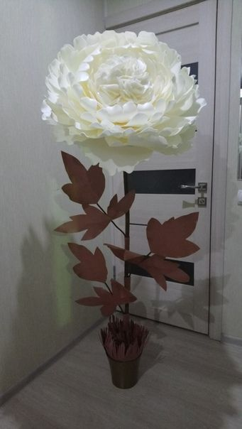 Цветов дизайн букет ростовых