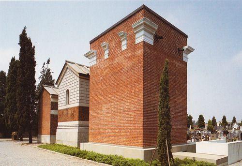 Aldo Rossi, Funerary Chapel, 1981 tomba molteni
