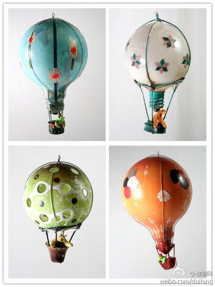 light blub air balloons