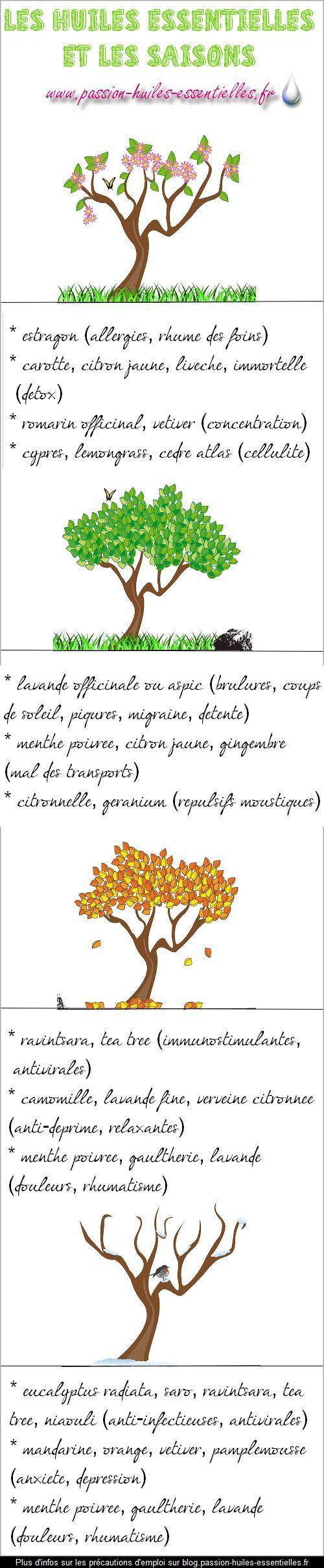 Huiles essentielles & Saisons                                                                                                                                                                                 Plus