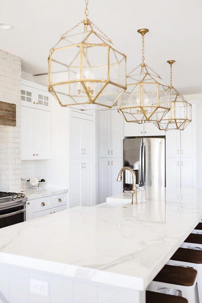 Bright Kitchen Lighting Open Shelving Kitchenlightingmidcentury