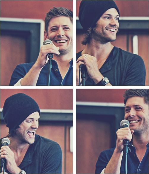 Jensen Ackles and Jared Padalecki!!!!!!!!!!!!!!! OMG YES!!!!!!!!!!1