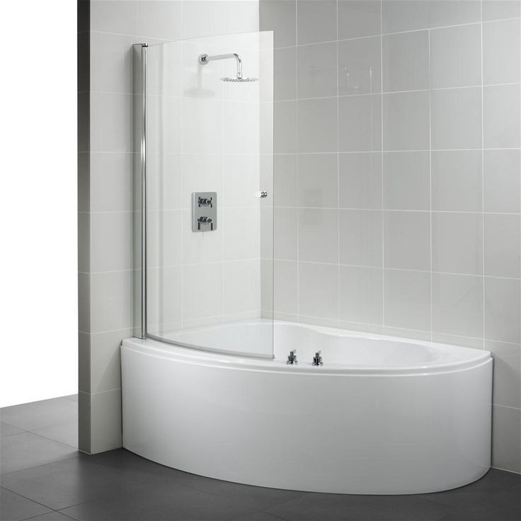 corner bathtub and shower - Bathtub Shower Doors