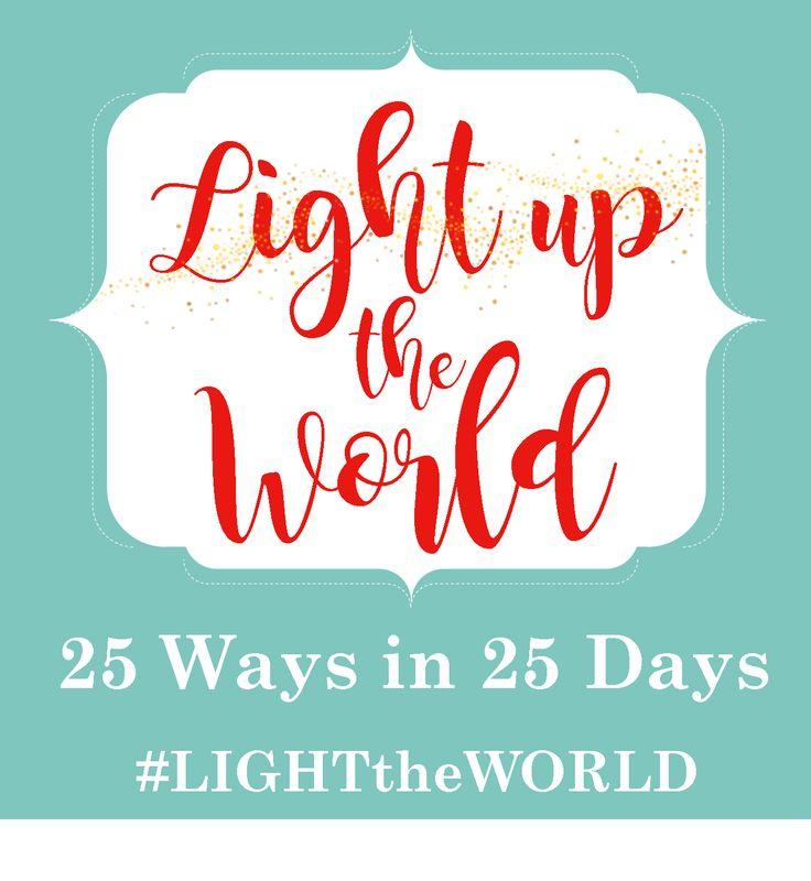 58 Best Christmas#LIGHTtheWORLD Images On Pinterest   Most ...   Light The