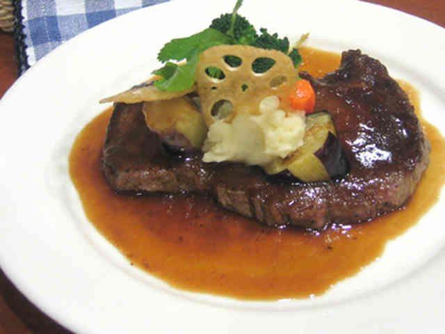牛肉のステーキ★バルサミコソースの画像