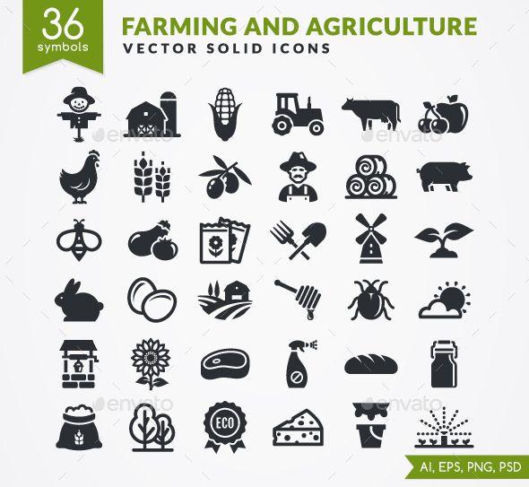 Farm Icons Web Design Farm Design