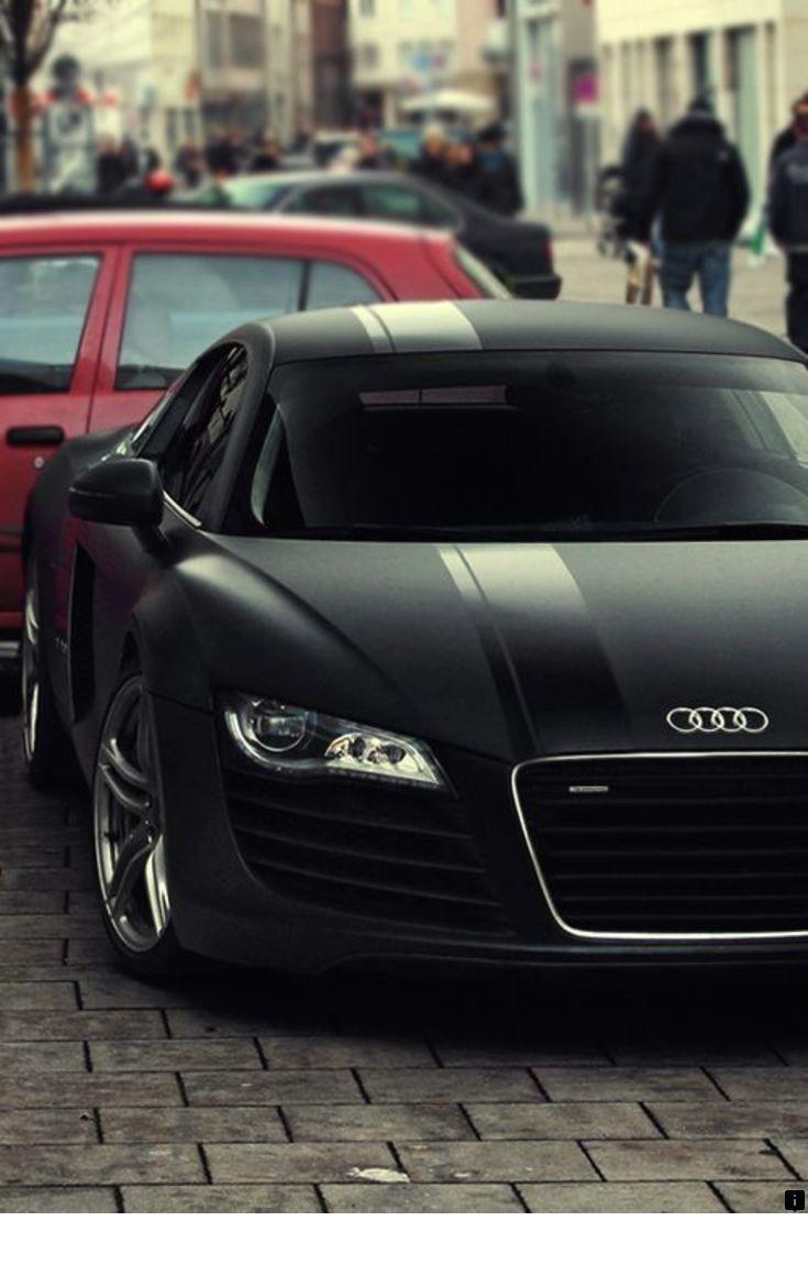 Audi R8 Matte Supercars In 2020 Black Audi Bmw Sports Car Black Car