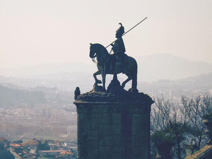 "Statue at ""Bom Jesus"", Braga Portugal"