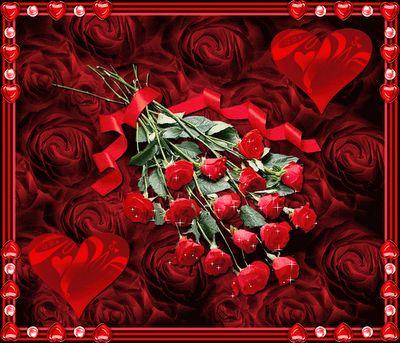rosas con mensajes de amor - Buscar con Google