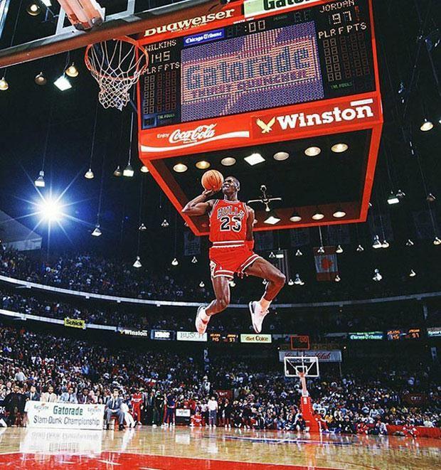 Cómo se sacó la mejor foto de Jordan de la historia - canchallena.com