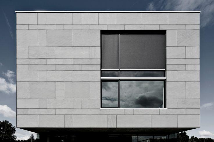 EQUITONE [tectiva]:Belgium - Temse - office building