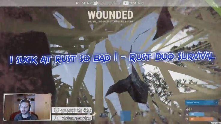 I am terrible at Rust ! - Duo survival !