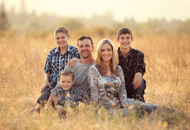 Family of 5 | Southern Oregon Family Portrait Photographer