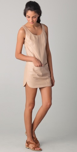 Want : Leather Now, Vince Leather, Dresses Thestylecur Com, Leather Tanks, Dresses Thestylecurecom, Tanks Dresses, Leather Dresses, Tans Dresses, Tans Tanks
