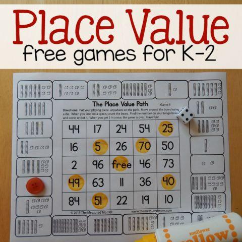 17 best ideas about place value games on pinterest place