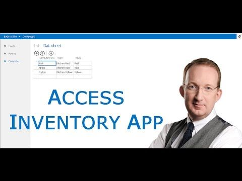 *Acess Inventory App for SharePoint* Create an Access Inventory App and publish it to SharePoint: http://www.kalmstrom.com/Tips/SharePoint-Online-Exercises/Access-Inventory-App.htm