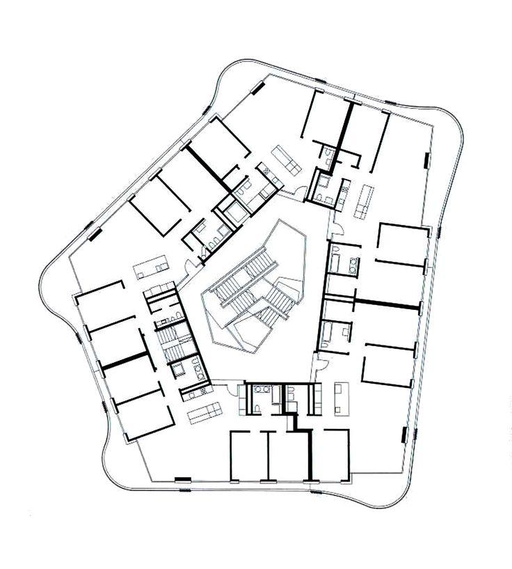 Graber Pulver-Rondo Apartment Building, Zurich