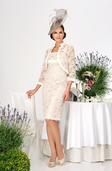 Dress Code by Veromia, elegant lace dress & bolero, perfect for the vintage wedding trend. By Classy Rags, Liverpool & Frodsham