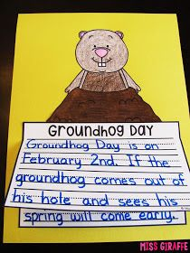 Miss Giraffe's Class: February Writing Prompts
