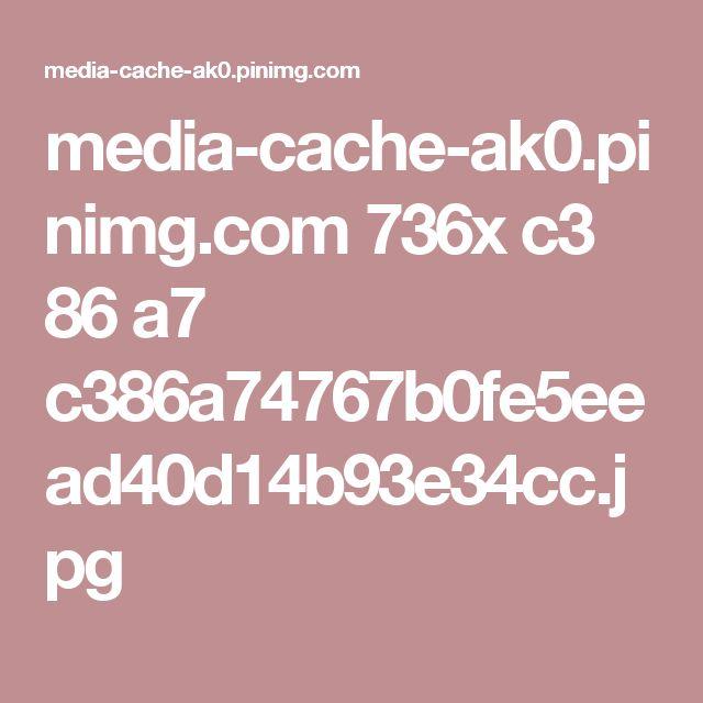 media-cache-ak0.pinimg.com 736x c3 86 a7 c386a74767b0fe5eead40d14b93e34cc.jpg