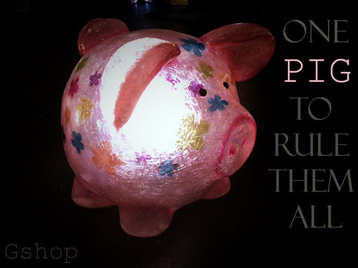 Our style_piggy light <3  Click here: https://www.etsy.com/listing/245899584/piggie-the-pig-fiberglass-lamp?ref=shop_home_active_16
