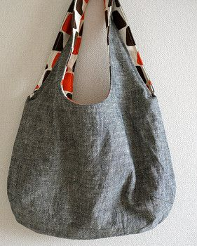 "reversible bag I made it and it came out amazing! First thing I ""really"" ever made that was useful!"