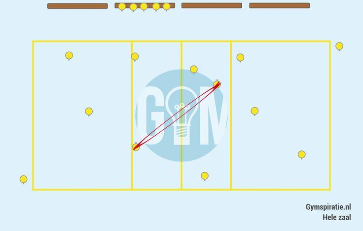 Duotikker met elastiek - Een leuke nieuwe uitdagende manier om een tikspel te spelen.
