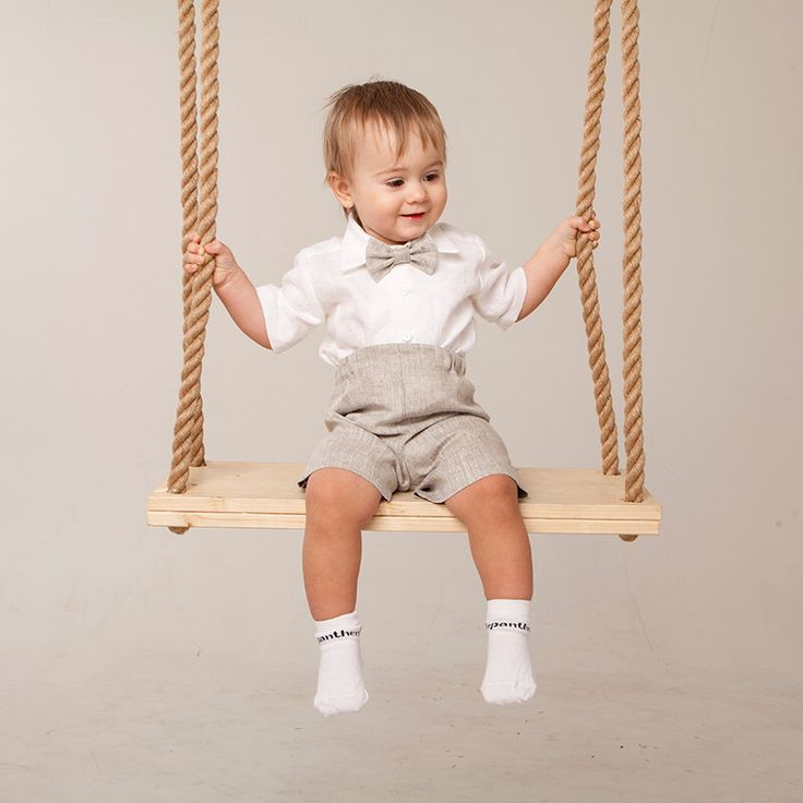 Baby boy linen suit Ring bearer outfit Rustic wedding boy outfit Wedding party boy suit Baptism boy shirt shorts bow tie Christening outfit by Graccia on Etsy https://www.etsy.com/listing/220076428/baby-boy-linen-suit-ring-bearer-outfit