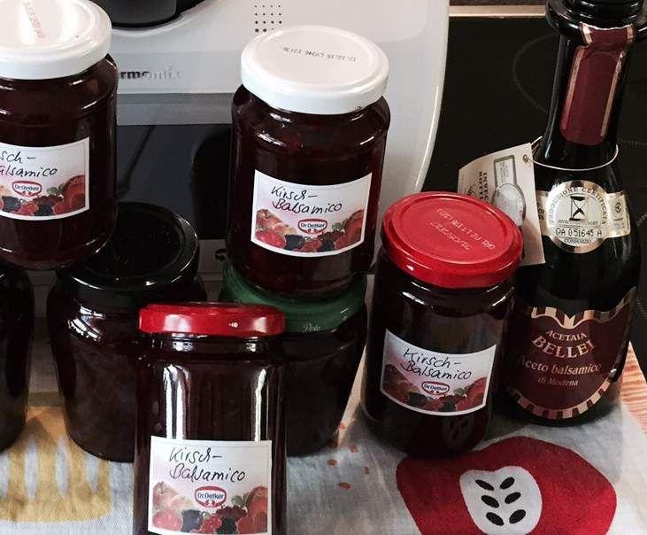 die besten 25 kirschmarmelade thermomix ideen auf pinterest marmelade rezept marmelade und. Black Bedroom Furniture Sets. Home Design Ideas
