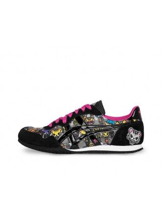 tokidoki x Onitsuka Tiger Womens Serrano Shoe (Multi/Black)