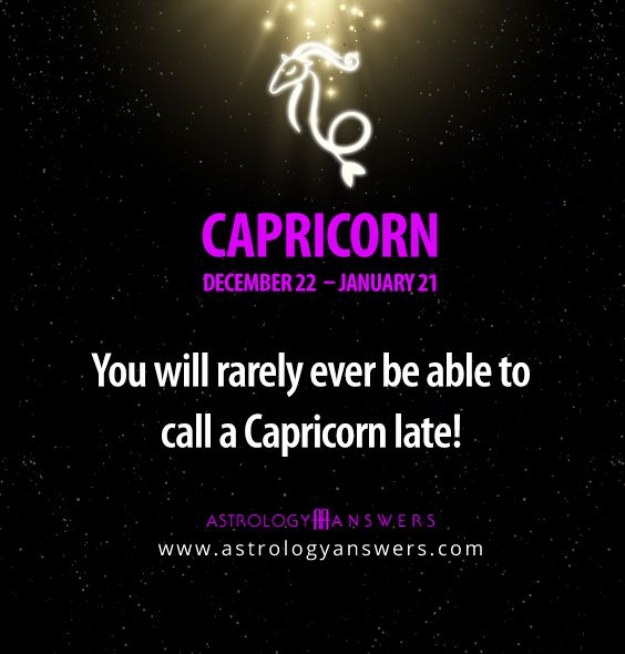 #Capricorn is great!
