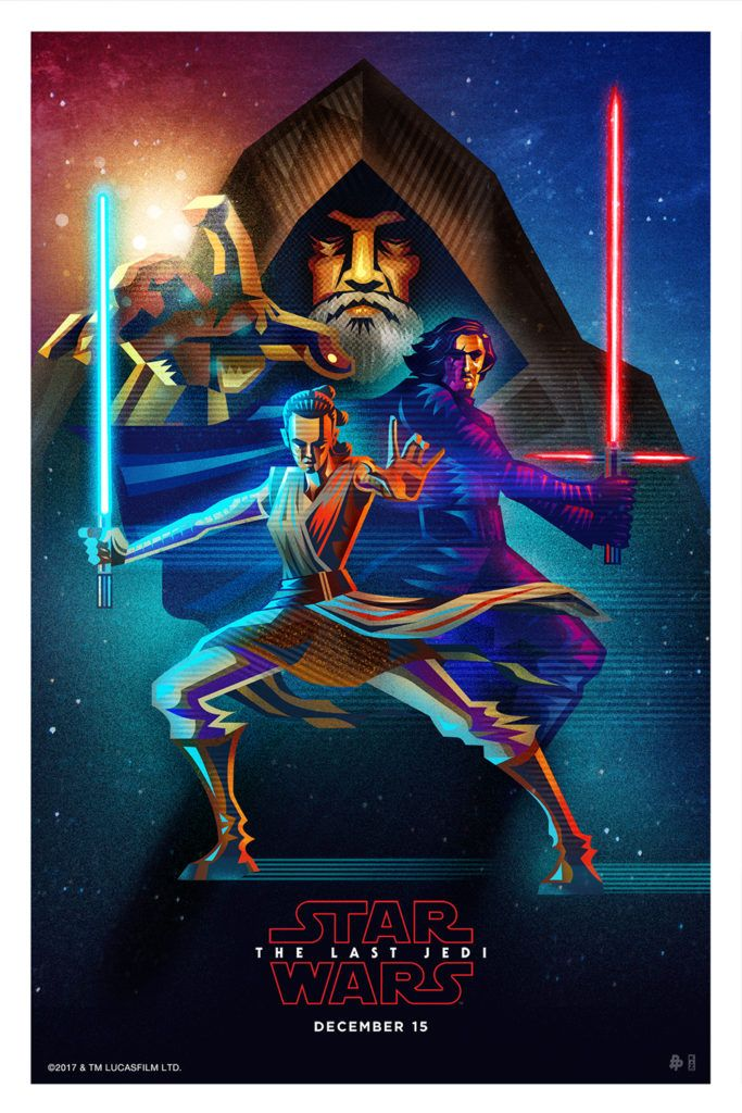 Disney Movie Rewards Offers 3 Stunning Prints For Star Wars: The Last Jedi