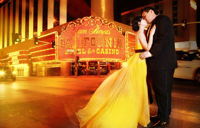Bright lights and yellow bride!
