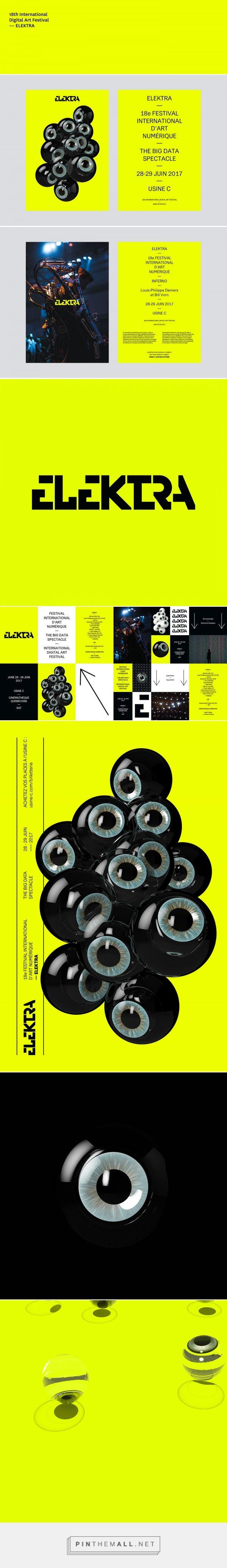 ELEKTRA - 18th International Digital Art Festival on Behance - created via https://pinthemall.net