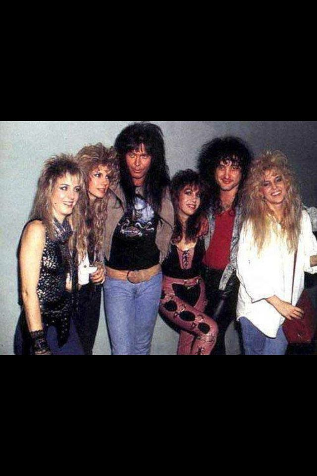 Vixen with Blackie Lawless and Kevin DuBrow