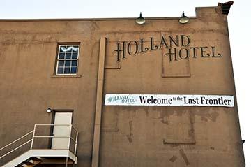 Holland Hotel  Alpine, Texas