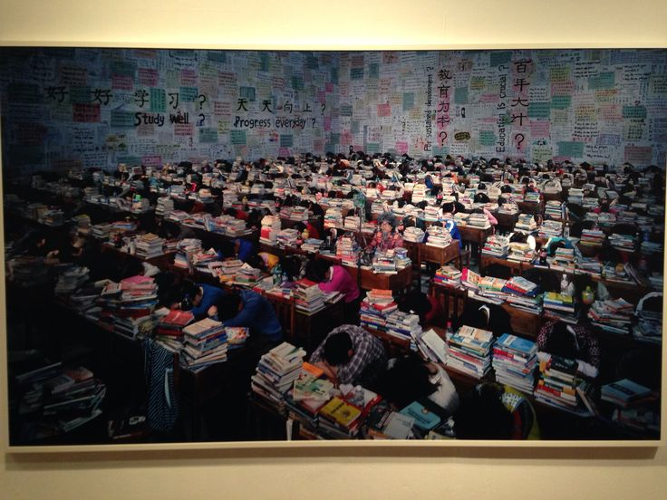 Wang Quingsong Photography in museum of modern art in Seoul