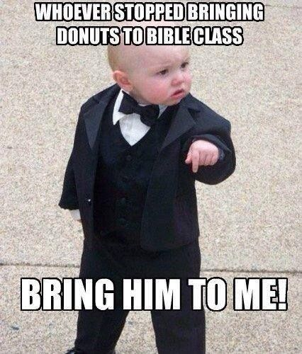 bring him to me! #lutheran #humor #bibleclass