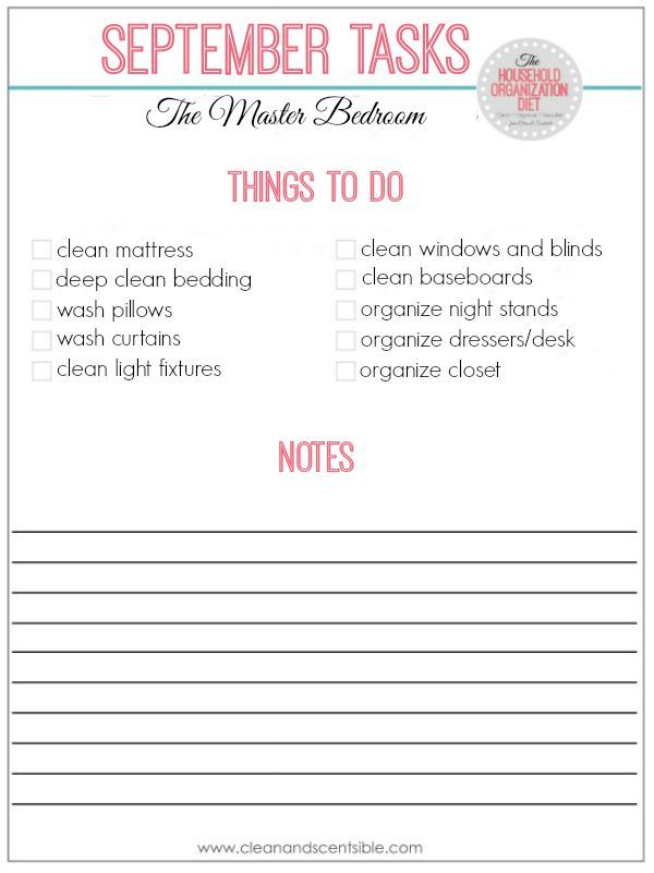 17 best ideas about bedroom cleaning on pinterest - How to clean and organize a bedroom ...