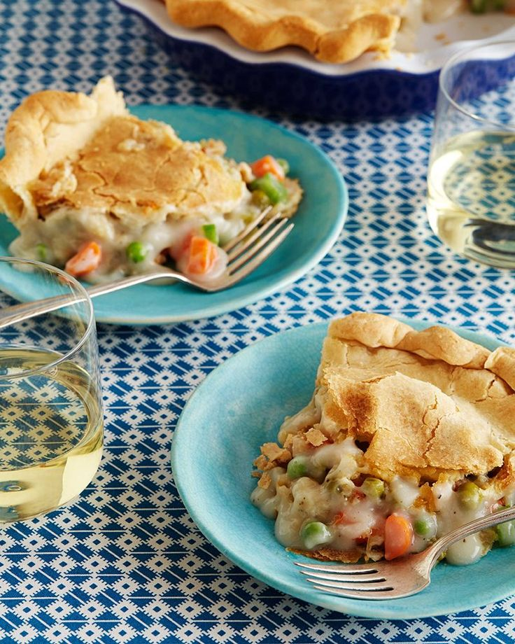 Chickless Pot Pie Recipe from Trisha Yearwood  Food Network Favorites - tried this tonight and my meat lovin' hubby didn't realize what was missing!!